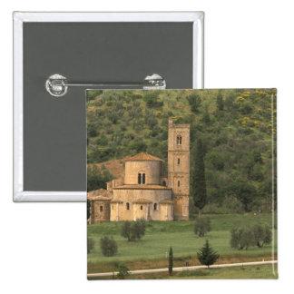 Europe, Italy, Tuscany. Abbazia di Sant'Antimo, Button