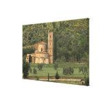 Europe, Italy, Tuscany. Abbazia di Sant'Antimo, Canvas Print