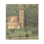 Europe, Italy, Tuscany. Abbazia di Sant'Antimo, Memo Notepads