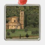 Europe, Italy, Tuscany. Abbazia di Sant'Antimo, Christmas Ornament