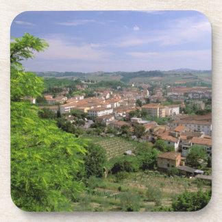 Europe, Italy, Tuscany, Certaldo. Medieval hill Coasters