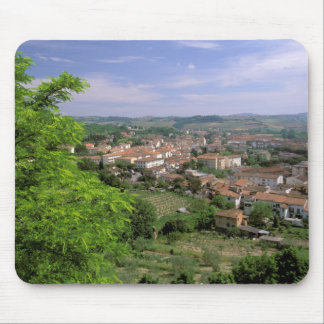 Europe, Italy, Tuscany, Certaldo. Medieval hill Mouse Pad