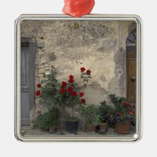Europe, Italy, Tuscany, Chianti, Tuscan doorway; Metal Ornament