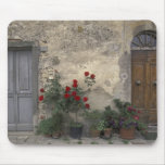 Europe, Italy, Tuscany, Chianti, Tuscan doorway; Mouse Pad