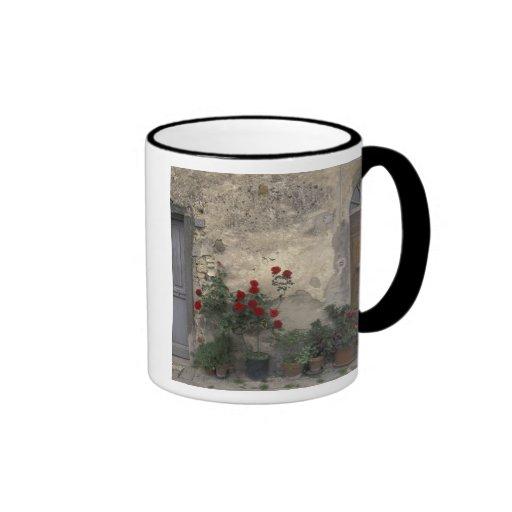Europe, Italy, Tuscany, Chianti, Tuscan doorway; Ringer Coffee Mug