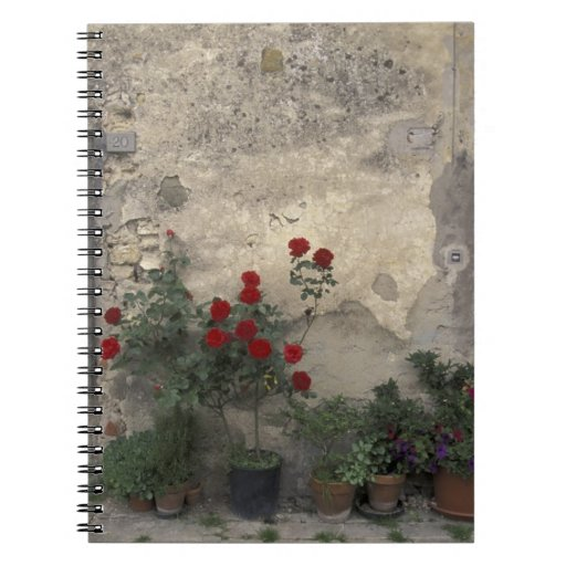 Europe, Italy, Tuscany, Chianti, Tuscan doorway; Notebook