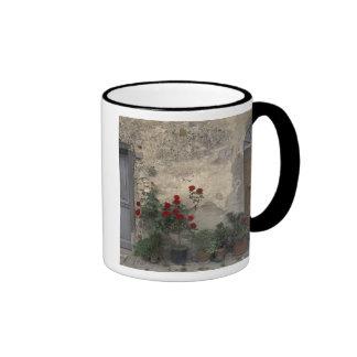 Europe, Italy, Tuscany, Chianti, Tuscan doorway; Ringer Mug