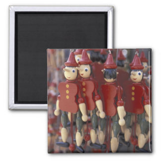 Europe, Italy, Tuscany, Collodi, Home of 2 Inch Square Magnet