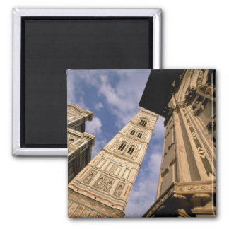 Europe, Italy, Tuscany, Florence. Piazza del 3 2 Inch Square Magnet