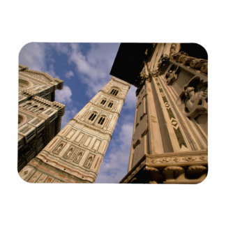 Europe, Italy, Tuscany, Florence. Piazza del 3 Rectangle Magnets