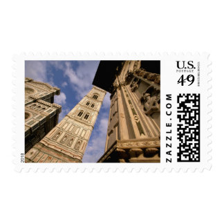 Europe, Italy, Tuscany, Florence. Piazza del 3 Stamp
