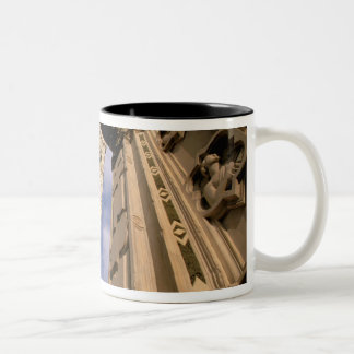 Europe, Italy, Tuscany, Florence. Piazza del 3 Two-Tone Coffee Mug
