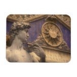 Europe, Italy, Tuscany, Florence, Piazza della Rectangular Magnet