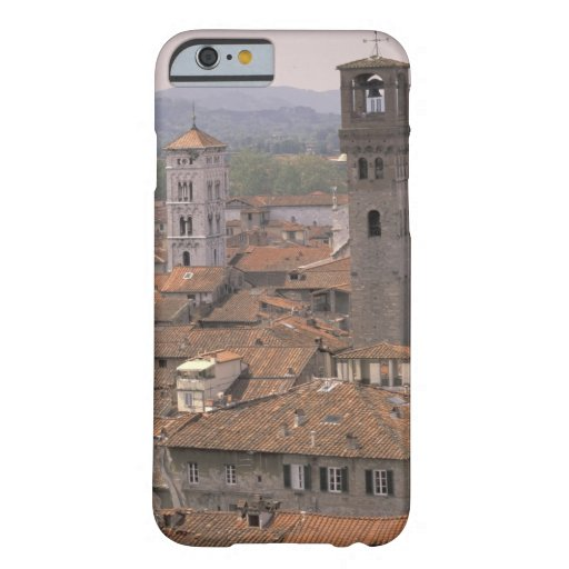 Europe, Italy, Tuscany, Lucca, Town panorama iPhone 6 Case