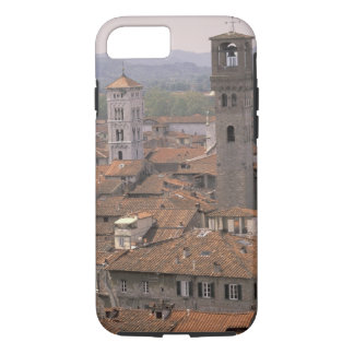 Europe, Italy, Tuscany, Lucca, Town panorama iPhone 7 Case
