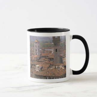 Europe, Italy, Tuscany, Lucca, Town panorama Mug