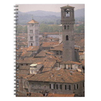 Europe Italy Tuscany Lucca Town panorama Note Books