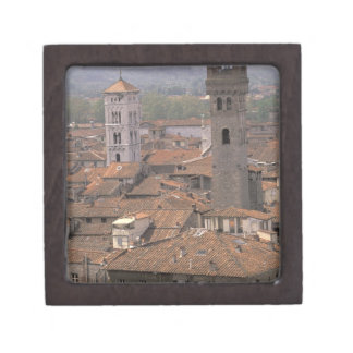 Europe Italy Tuscany Lucca Town panorama Premium Gift Boxes