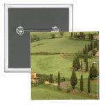 Europe, Italy, Tuscany, Monticchiello. Curvy Button