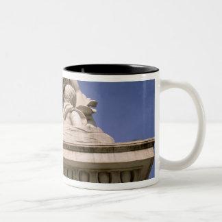 Europe, Italy, Tuscany, Pisa. Piazza dei Two-Tone Coffee Mug