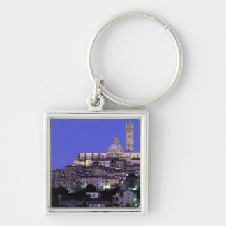 Europe, Italy, Tuscany, Siena. 13th C. Duomo and Keychain