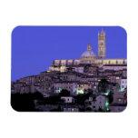 Europe, Italy, Tuscany, Siena. 13th C. Duomo and Rectangular Photo Magnet