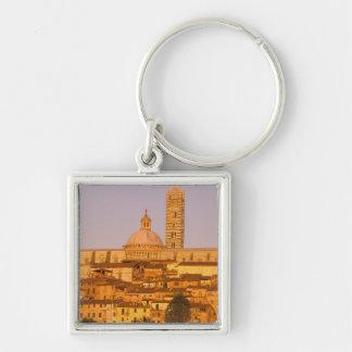 Europe, Italy, Tuscany, Siena. 13th century 2 Keychain