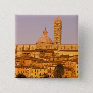 Europe, Italy, Tuscany, Siena. 13th century 2 Pinback Button