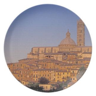 Europe, Italy, Tuscany, Siena. 13th century 3 Melamine Plate