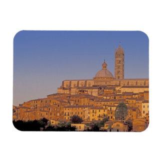 Europe, Italy, Tuscany, Siena. 13th century 3 Rectangular Photo Magnet
