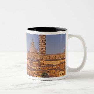 Europe, Italy, Tuscany, Siena. 13th century 3 Two-Tone Coffee Mug