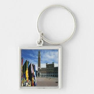 Europe, Italy, Tuscany, Siena. Piazza del Keychain