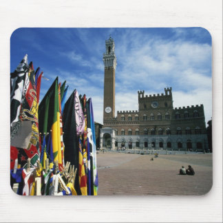 Europe, Italy, Tuscany, Siena. Piazza del Mouse Pad