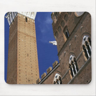 Europe, Italy, Tuscany, Siena. Torre del Mousepad