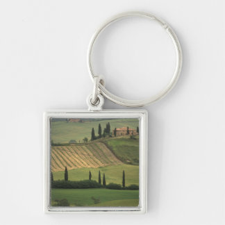 Europe, Italy, Tuscany, Val d' Orcia, Tuscan Keychain