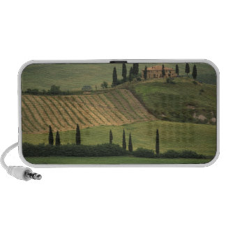 Europe, Italy, Tuscany, Val d' Orcia, Tuscan Notebook Speakers