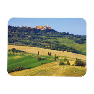 Europe, Italy, Tuscany, Val d'Orcia, Pienza - 2 Magnet