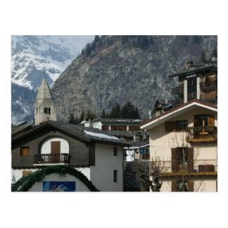 Europe, Italy, Valle d'Aosta, COURMAYEUR: Town Postcards