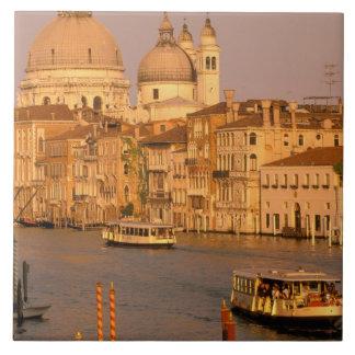 Europe, Italy, Veneto, Venice. Sunset view of Tile