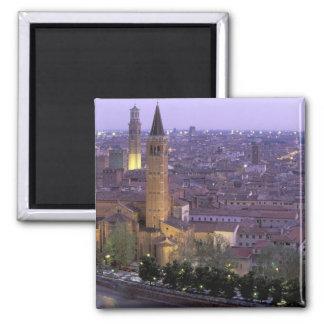 Europe, Italy, Veneto, Verona. View from Castel Magnet