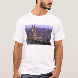Europe, Italy, Veneto, Verona. View from Castel T-Shirt