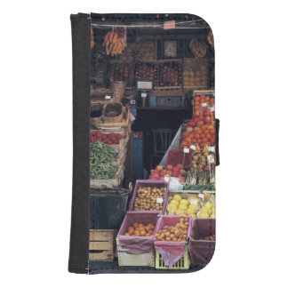 Europe, Italy, Venice area. Colorful fruits and Galaxy S4 Wallet Case