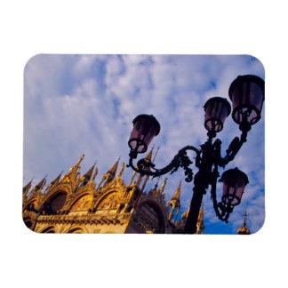 Europe, Italy, Venice. Byzantine Basilica and Vinyl Magnets
