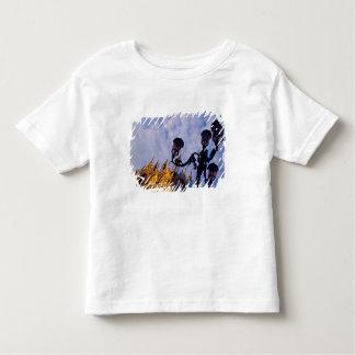 Europe, Italy, Venice. Byzantine Basilica and Toddler T-shirt