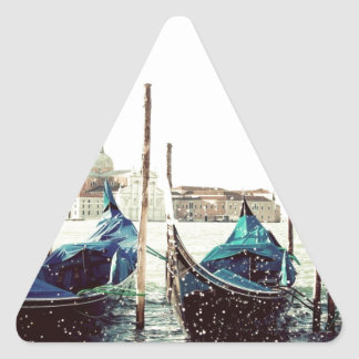 Europe italy venice canoes gondola. sticker