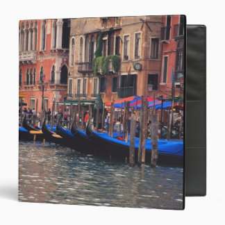 Europe, Italy, Venice, gondolas in canal Vinyl Binders