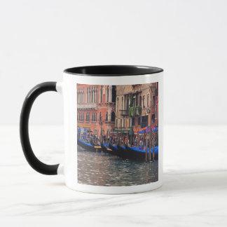 Europe, Italy, Venice, gondolas in canal Mug