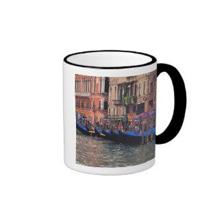 Europe, Italy, Venice, gondolas in canal Mugs