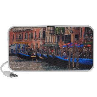 Europe, Italy, Venice, gondolas in canal PC Speakers