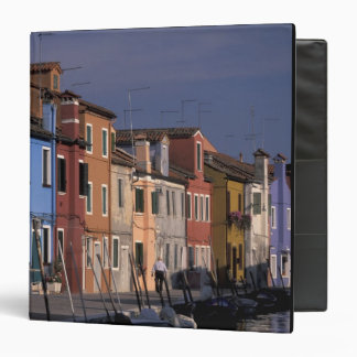 Europe, Italy, Venice. Multi, colored houses Binder